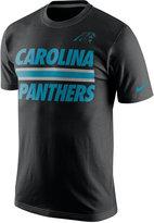 Nike Men's Carolina Panthers Team Stripe T-Shirt