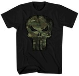 Punisher ® Men's Punisher Camo Fill T-Shirt Black