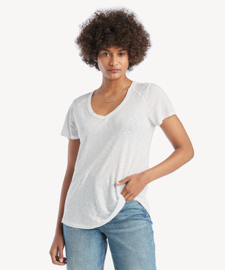 LAmade Women's Vintage Tee In Color: Palm Frond Size XS Fabric From Sole Society