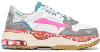 Premiata Color-Block Platform Sneakers