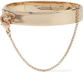 Eddie Borgo Safety Chain Gold-plated Bracelet - one size