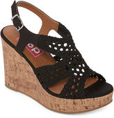 POP Mai Womens Wedge Sandals