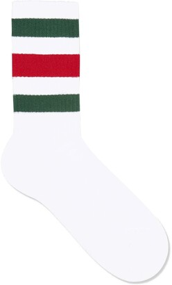 Gucci Stretch cotton socks with Web
