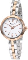 Kenneth Cole New York Kenneth Cole Women's Classic KC4764 Silver Stainless-Steel Quartz Watch with Dial