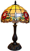 Classic Dragonfly Tiffany Leadlight Stained Glass Desk Lamp