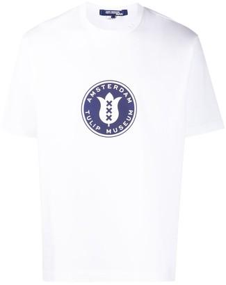 Junya Watanabe x Amsterdam Tulip Museum logo print T-shirt