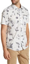 Volcom D Club Printed Modern Fit Short Sleeve Shirt