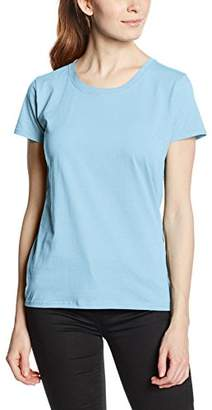 Fruit of the Loom Women's Valueweight Short Sleeve T-Shirt,12 (Manufacturer Size:)