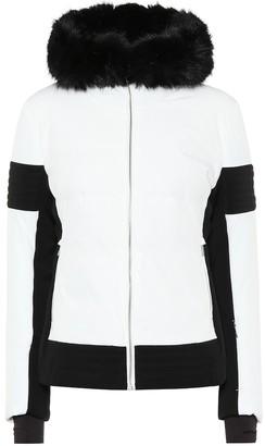Fusalp Gardena III fur-trimmed ski jacket