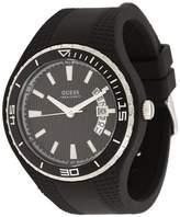 GUESS GUESS? Men's U10663G6 Rubber Quartz Watch with Dial