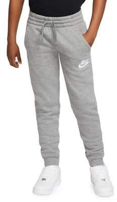 Nike Boy's Logo Cotton Blend Pants