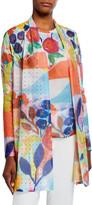 Berek Petite My Colorful Painting Long Cardigan