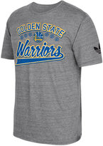 adidas Men's Golden State Warriors Originals Great Logos Tri-Blend T-Shirt