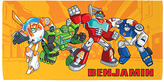 Transformers Rescue Bots Personalized Beach Towel