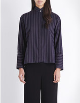 Dion Lee Striped cotton shirt