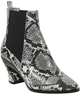J. Renee Carlee (Black/White Snake) Women's Shoes