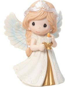 Precious Moments 8th Annual Angel Series He Is the Light Figurine