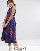 Midi Full Skirt Dress - ShopStyle