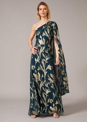Phase Eight Kiara Shimmer Drape Dress