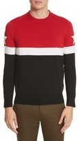 Givenchy Men's Stripe Wool Blend Pullover