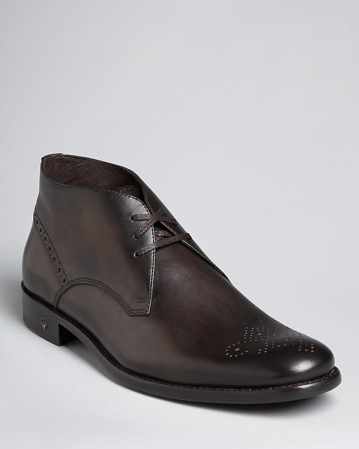 John Varvatos USA Brogue Chukka Boots