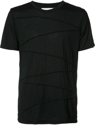 Private Stock ribbed detailing T-shirt