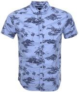 Superdry Ultimate Oxford Aloha Shirt Blue