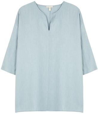 Eileen Fisher Duck Egg Blue Linen Tunic