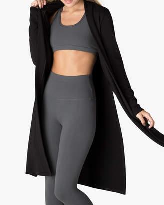 Beyond Yoga Side-Slit Long Duster Sweater