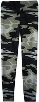 Ael Girls Floral Camouflage Leggings And Crop Top T-Shirts Kids Age Size 7-13 Years
