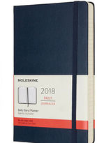 Moleskine NEW 2018 Large Sapphire Blue Hard Cover Daily Diary