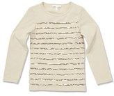 Marie Chantal Sequin Stripe T-shirt