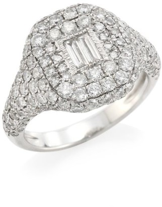 Shay Essentials Pave Diamond Pinky Ring