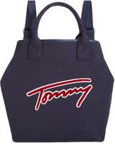 Tommy Hilfiger Aurora Embellished Canvas Backpack