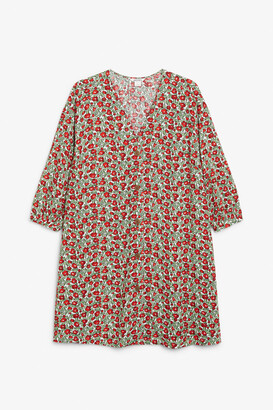 Monki Oversized button-up dress
