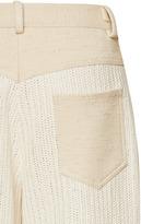 Rosie Assoulin Crochet Jean