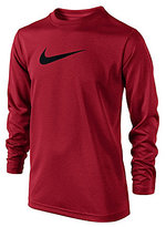 Nike Big Boys 8-20 Long-Sleeve Legend Shirt