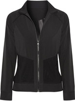 Purity Active Mesh-trimmed stretch jacket