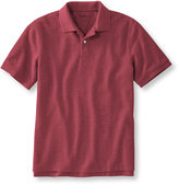 L.L. Bean Premium Double L Polo Banded, Short-Sleeve Without Pocket