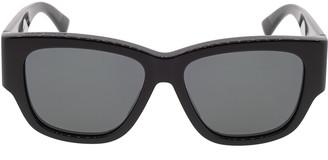 Bottega Veneta Full Rim Rectangular Sunglasses