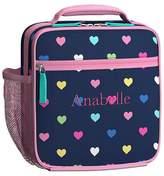 Pottery Barn Kids Mackenzie Navy Multi Heart Lunch Bags
