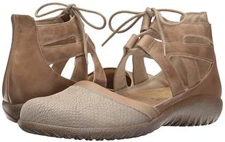 Naot Footwear Kata (Black Crackle Leather/Black Velvet Nubuck/Black Raven Leather) Women's Shoes