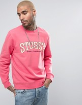 Stussy Sweatshirt With Varsity Logo