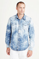 True Religion Super T Ryan Mens Western Shirt
