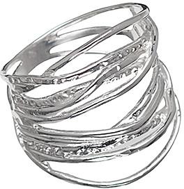Callura callura Women's Rings Silver - Sterling Silver Multi-Band Ring