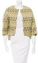Giambattista Valli Asymmetrical Tweed Jacket
