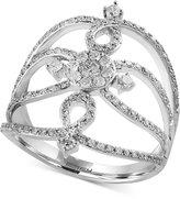 Effy Diamond Statement Ring (3/4 ct. t.w.) in 14k White Gold