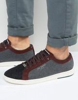 Ted Baker Minem Wool Trainers