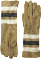 MICHAEL Michael Kors Fisherman Rugby Multicolor Long Gloves