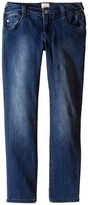 Armani Junior Slim Fit Tonal Denim in Denim Indaco Girl's Jeans